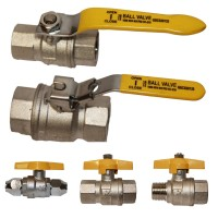 "GAS Approved ""Bettaflo"" Ball Valves"